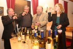 Prova dos Winemakers Imagens de Stock Royalty Free