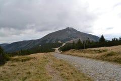 Prova nelle montagne Fotografia Stock
