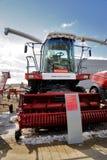 Prova su strada del trattore dell'aratro Tjumen' La Russia Fotografie Stock Libere da Diritti