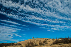 Provadia. Bulgaria beauty sky in ovach Royalty Free Stock Images