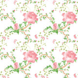 Provance flower seamless pattern backgorund. Provance flower and leaves seamless pattern backgorund Royalty Free Stock Images
