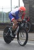 Prove a cronometro olimpiche 2012 Fotografie Stock