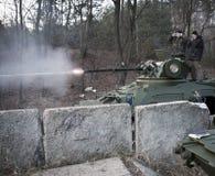 Prove del BTR-3 nuovo Kiev Ucraina Immagini Stock