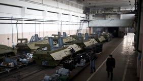 Prove del BTR-3 nuovo Kiev Ucraina Immagine Stock