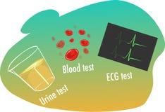 Prove di ipertensione Fotografia Stock