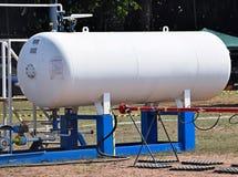 Provea de gas el envase Foto de archivo