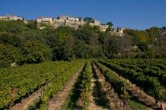 Provençal Dorf Lizenzfreie Stockfotos
