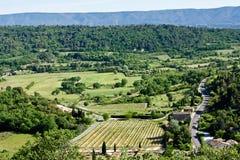 Provençal Landscape Royalty Free Stock Photography