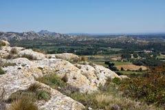 Provençal Landscape Royalty Free Stock Images