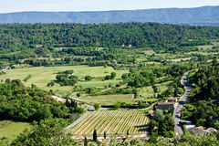 Provençal Landscape Royalty Free Stock Photography