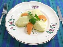 provencal brandade的鳕鱼 库存图片