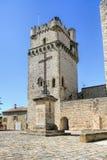 Provencal bySt Laurent des Arbres, söder av Frankrike Fotografering för Bildbyråer