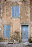 Provencal Doors Royalty Free Stock Photos
