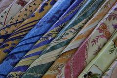 Provencal fabrics Stock Photo