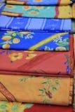 Provencal fabrics Royalty Free Stock Photography