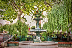 Provencal fountain, Bandol France. Provencal fountain, Bandol, French riviera, France stock photo