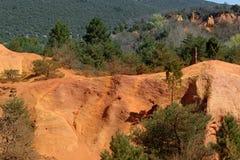 Provencal landscape Stock Photo