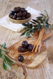 Provencal olives Stock Images