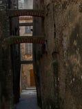 Provencal smalle straat Stock Fotografie