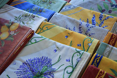 Provencal textile Stock Images