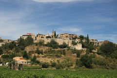 Provencal village in the mountains Stock Photos