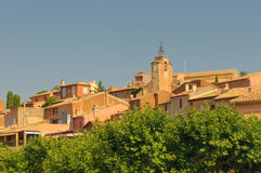 Provencal village of Roussillon Royalty Free Stock Image