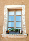 Provencal window Stock Photo