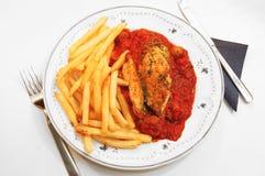 Provencale de filet de poulet. Image stock