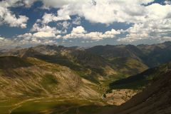 Provence Alps Col de l�Izoard France Royalty Free Stock Photo