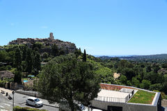 Provence by av St Paul de Vence Arkivfoton