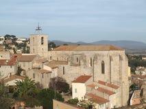 Provence church Stock Image