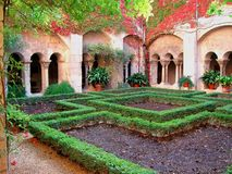 Provence cloister Royalty Free Stock Image