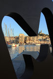 Provence Cote d'Azur, France - Marseille Old port Royalty Free Stock Images