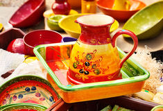 Provence decorative traditional pottery Stock Images