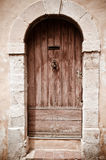 Provence door Stock Image