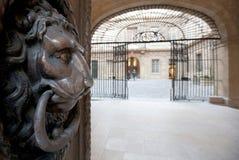 provence för aixen-korridor town Royaltyfria Foton