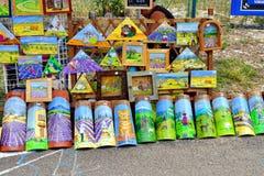 Provence, França - mercado de rua Fotografia de Stock