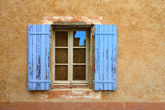 Provence, France - open window Royalty Free Stock Photo
