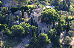 Provence France. A view from a village in Provence, France Royalty Free Stock Photography