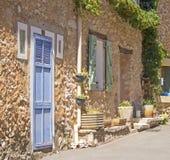 Provence, french village street. Stock Photo