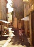 Provence gata Royaltyfria Foton