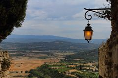 Provence from Gordes Stock Photo