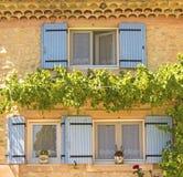 Provence, house i french village. France. Stock Images