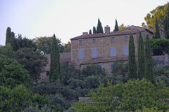 Provence houses Royalty Free Stock Photos