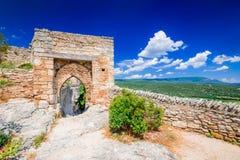Provence i Helgon-Saturnin-les-benägna Frankrike - Arkivbild