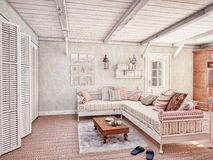 Provence  interior Stock Photo