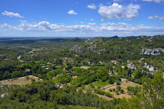 Provence-Landschaft, Frankreich Lizenzfreie Stockfotografie