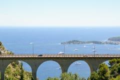 Provence landskap - Eze royaltyfri bild