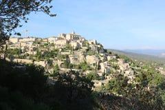Provence, Lubéron, Frankreich stockbilder