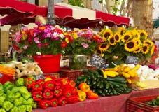Provence marknad Arkivfoton
